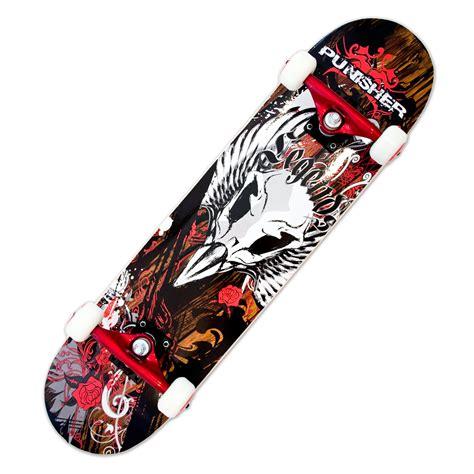 Skateboadr Canadian Maple Brun 1 punisher skateboards 9005 complete 31 inch skateboard with