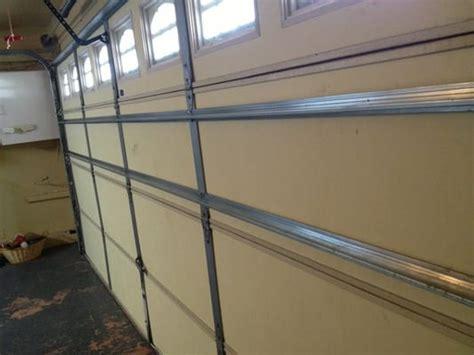 Garage Door Reinforcement Struts Home Depot by 2 New Struts Added To Reinforce Garage Door Yelp