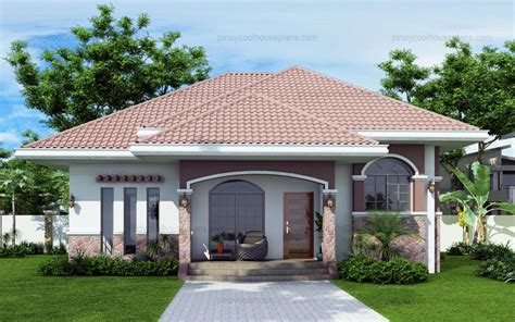 Master Bath Floor Plan 10 Bungalow Amp Single Story Modern House With Floor Plans