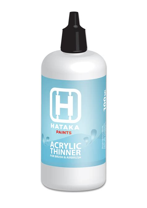 Thinner Acrylic acrylic paints thinner hataka