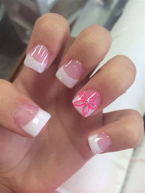 acrylic nail tips 45 flower nail ideas collection for