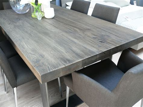 grey wood dining table new arrival modena wood dining table in grey wash