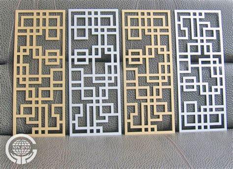 modern decorative metal column perforated metal screen