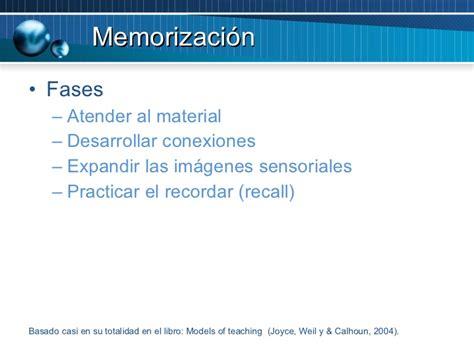 imagenes sensoriales ppt modelos de ensenanza