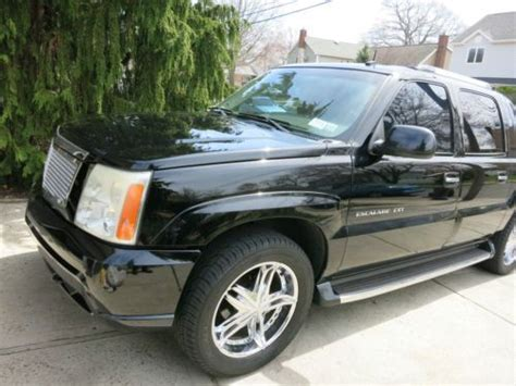 2002 cadillac escalade grille sell used 2002 cadillac escalade ext many extras grille