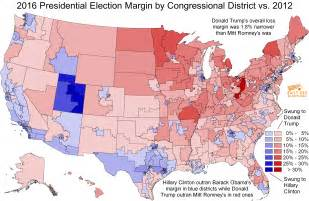 us election map by district daily kos elections presents the 2016 presidential