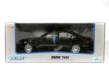 Diecast Bmw 745i 2002 bmw 745i diecast model car 1 18 scale die cast by welly black