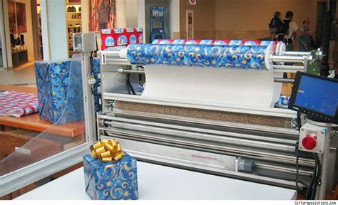 gift wrapping machine nrf expo the 4 coolest things we saw at retail s big show
