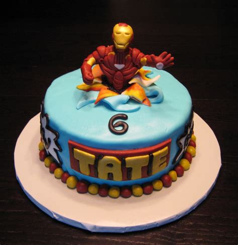 custom cakes by julie iron man cake