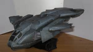 Halo Papercraft - pelican dropship papercraft halo combat evolved