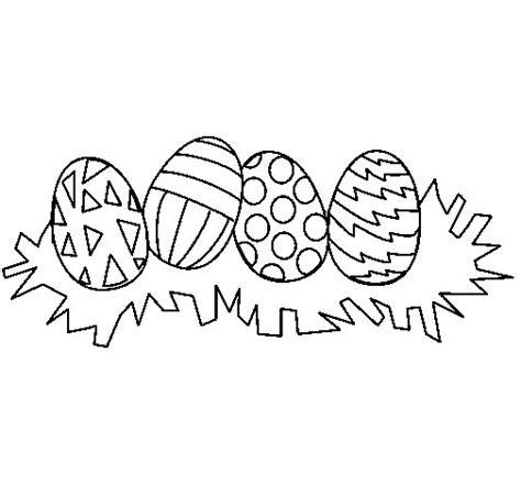 imagenes para pintar huevos de pascua dibujo de huevos de pascua iii para colorear dibujos net
