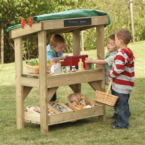 the kids backyard store buy outdoor wooden role play shop tts