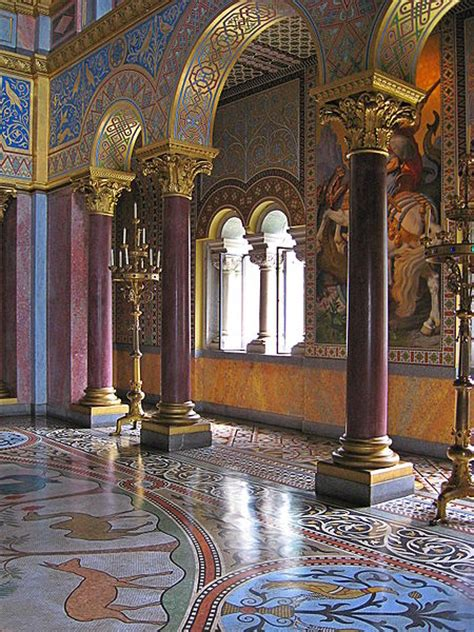 castle throne room romanesque architecture european travelista