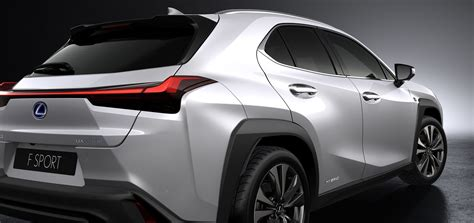 2019 Lexus Ux Hybrid by Funky Lexus Ux Crossover Debuts With New Hybrid Model