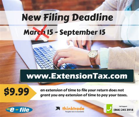 March 15 Mba Deadline by C Corp Extension Of Time Extension Tax