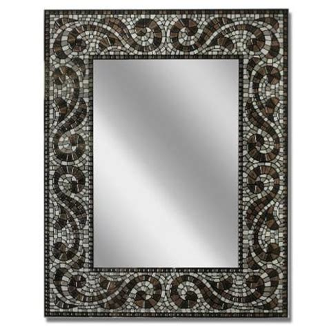 Vanity Mirrors Home Depot by Headwest 22 In X 28 In Frameless Vanity Mirror In