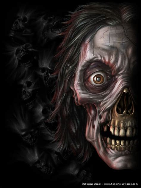 the art of horror horror art creepy dead haunted