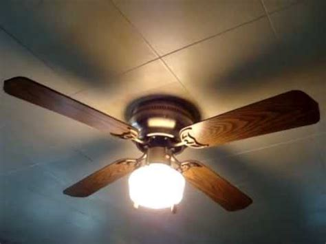 hawaiian breeze ceiling fan aloha breeze 42 quot hugger ceiling fan youtube