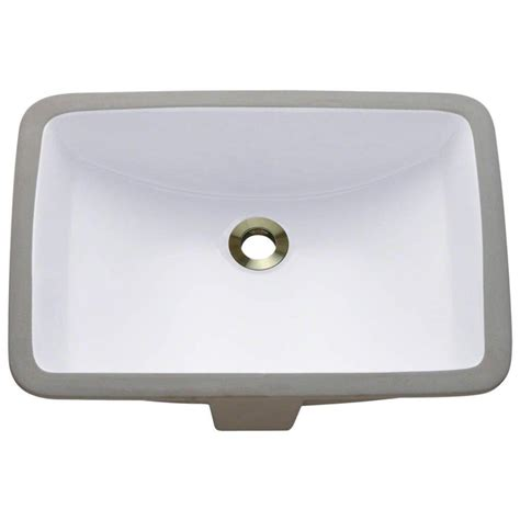 home depot porcelain sink polaris sinks undermount porcelain bathroom sink in white