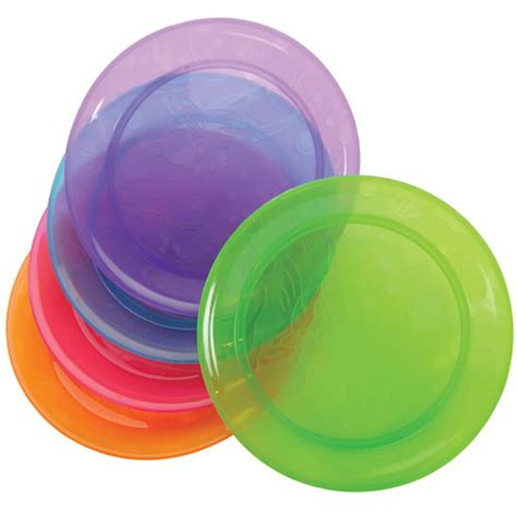 colorful plates colorful plates set of 5