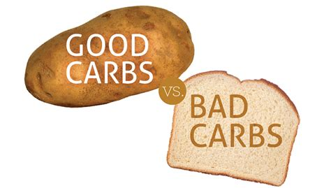 carbohydrates joint carbs vs bad carbs healthscope