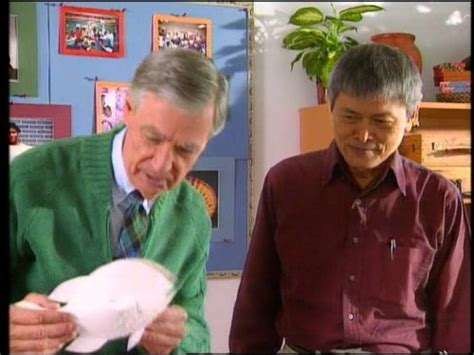 mister rogers neighborhood  sharing tv episode