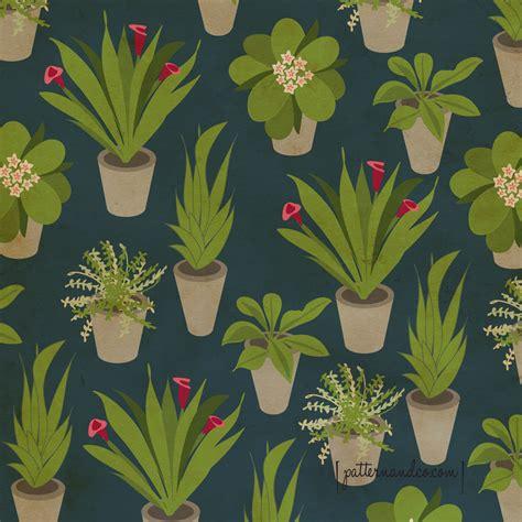 pattern of a flower house plants pattern co