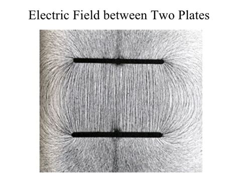if the electric field between the plates of a given capacitor is weakened electricity