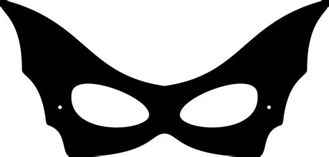 pin catwoman mask template on pinterest
