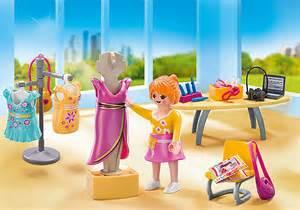 playmobil 5652 fashion designer boutique carrying case