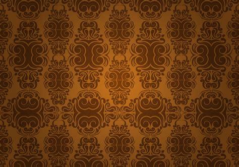 Wallpaper Batik 046 seamless wallpaper free vector stock