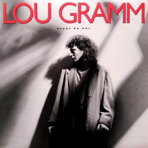 lou gramm ready or not vinyl lp album at discogs