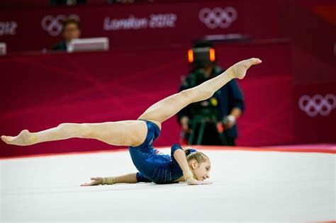 Best Gymnastics Floor by Viktoria Komova Of Russia On Floor At The 2012 Olympics