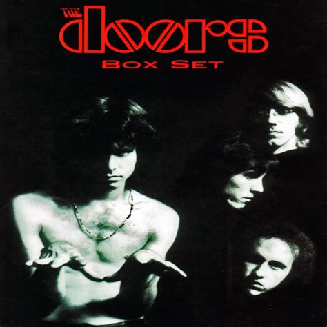 The Doors Album Cover by The Doors Box Set Documents The Band In All Its Unrefined