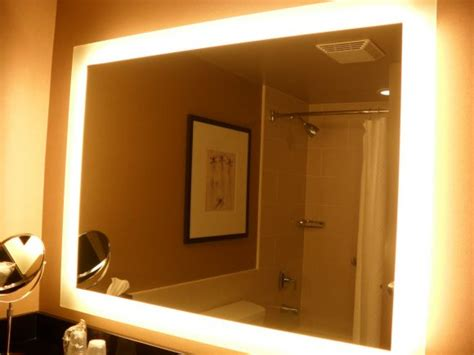 bathroom mirrors with built in lights bathroom save your morning grooming time with the large