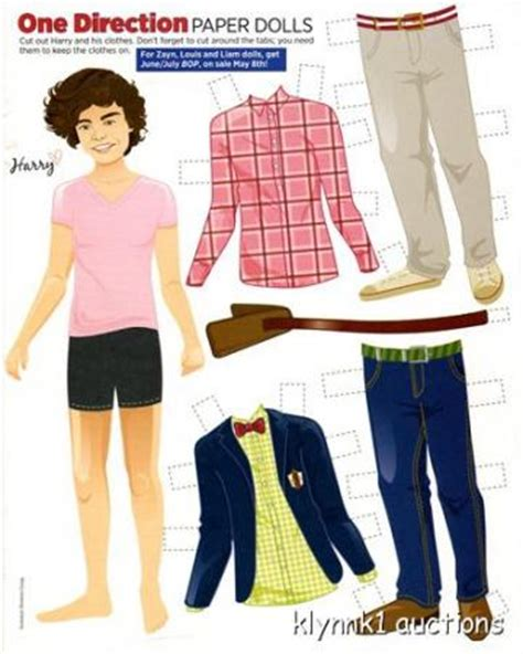 one direction paper dolls harry styles zayn niall louis liam one direction paper