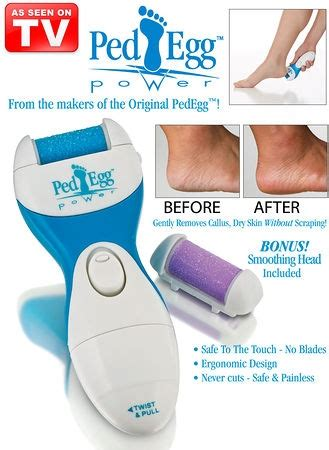 ped egg power dry foot smoother from collections etc as seen on tv altmeyer s bedbathhome blog