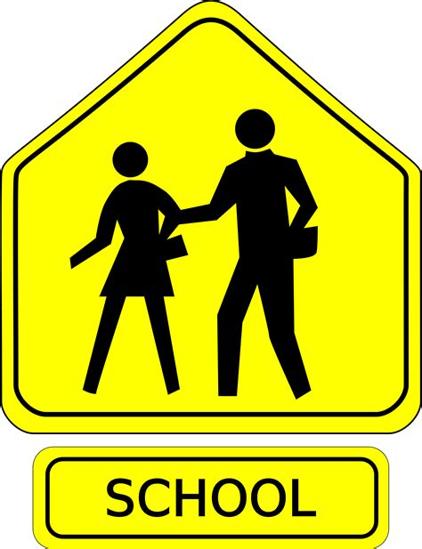 7 Signs You Are Popular In School by School Signs Clipart 20