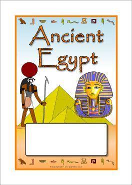 Kaften Werkboekje Thema Egypte Kleuters Theme Egypte
