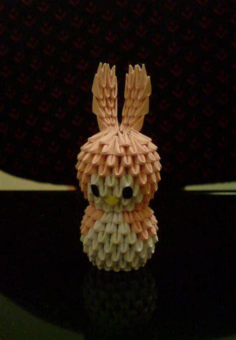 3d Origami Bunny - 3d origami bunny 2 by spkmw on deviantart