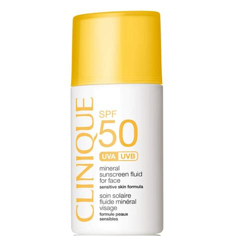 Spf Clinique clinique mineral sunscreen fluid for spf 50 skin