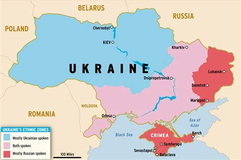 russia ukraine conflict maps guide to ukraine how events between moscow and kiev