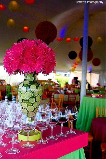 mexican themed events bright color theme party celebrations events