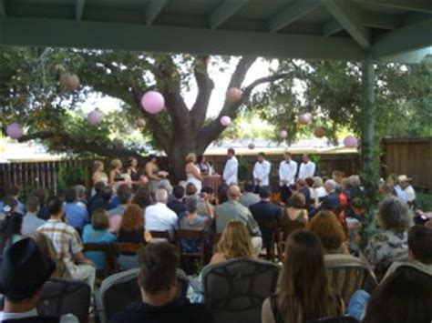exle of a backyard wedding executed perfectly los
