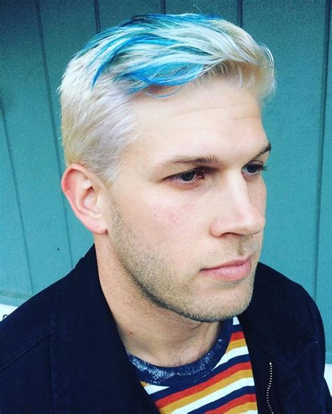 ash blue hair color and cut for men denimhair numinous 1000 ideas about stylish haircuts on pinterest haircuts