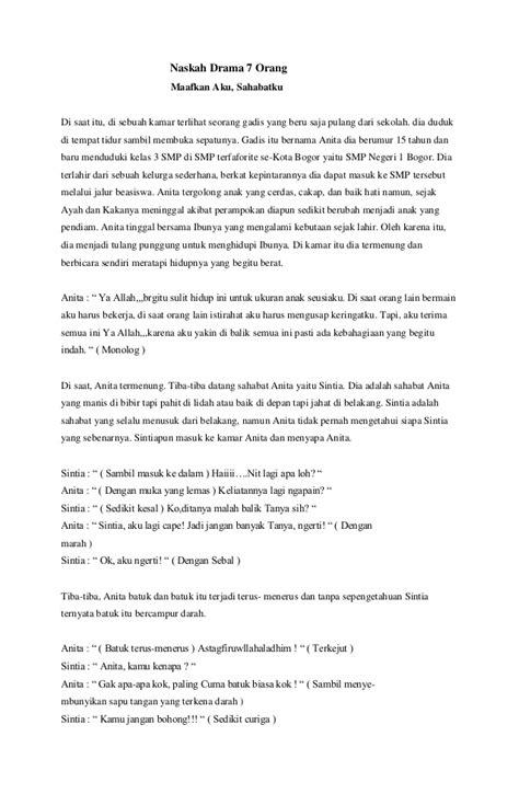 membuat teks drama anekdot watch naskah drama anak sekolah 7 orang persahabatan movie