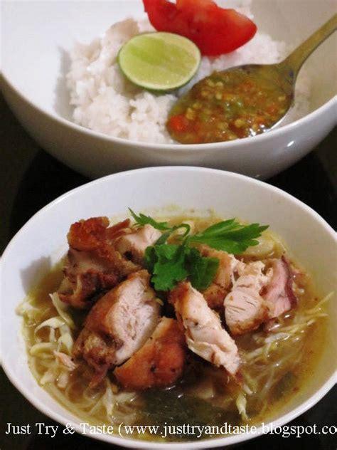 resep soto ayam goreng   taste