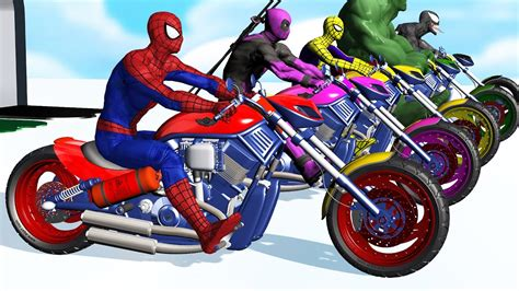 motorcycle colors learn colors motorcycle w