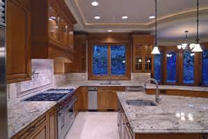 Kitchen Ceiling Lighting Design 49 Contemporary High End Wood Kitchen Designs