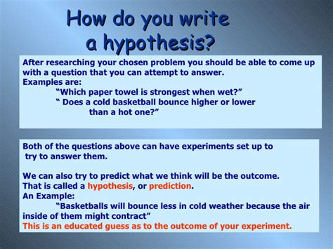 how do you write a background research paper new science fair 03
